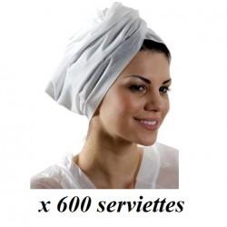 serviette jetable coiffure