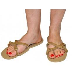 Sandale caramel