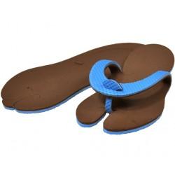 Tong bleu / chocolat
