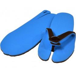 claquette chocolat bleu