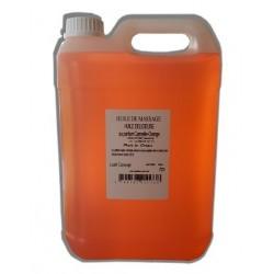 Huile de massage orange-cannelle 5L