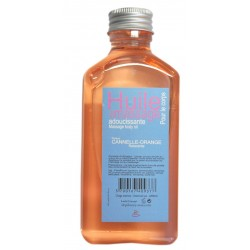 Huile de massage orange-cannelle 200ml