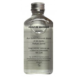 Huile de massage jasmin